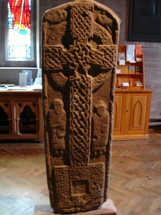 Pictish symbol stone from Meigle