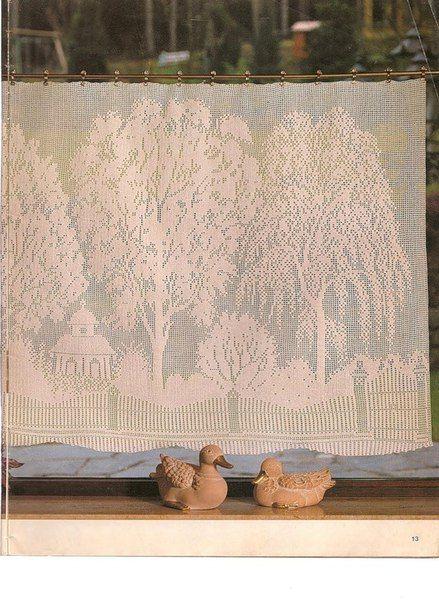 Вязание штор