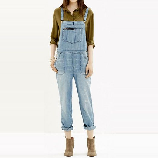 Rank & Style - Madewell Park Overalls in Skyview #rankandstyle