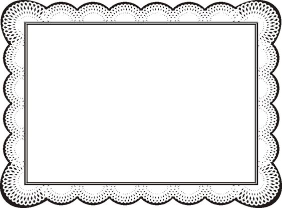 Free Certificate Borders For Word ClipArt Best – Certificate Borders for Word