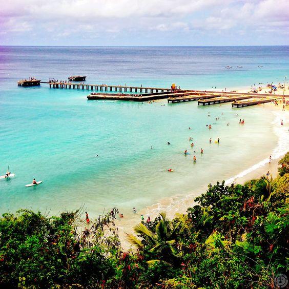 Playa Crash Boat (Crash Boat Beach) in Aguadilla, Puerto Rico