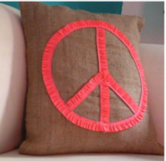 Simbolo de Paz - Almohadones - Casa - 121725