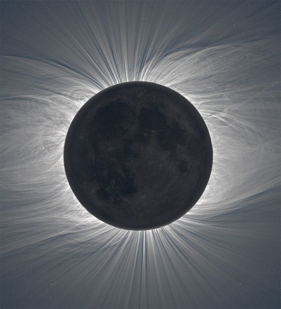 Shot by Czech photographer Miloslav Druckmüller from the Brno University of Technology, these amazing composite images capture the moon during a total solar eclipse revealing a vast solar corona. To achieve the crystal clear effect the shots are comprised from some 40+ photos taken with two