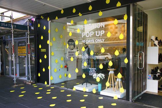 Fashion Collaboration Pop Up Store by Daniel Kamp, via Behance: