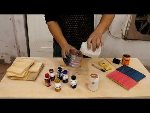 كيف استخدام الوان البلاستيك المائى في شغل الاستر Youtube Kitchen