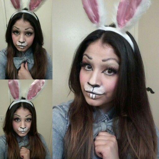 Halloween Makeup » Bunny Halloween Makeup - Beautiful Makeup Ideas ...