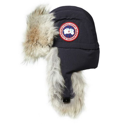 Canada Goose trillium parka online store - Canada Goose Aviator Coyote-Trimmed Trapper Hat | Buying new ...