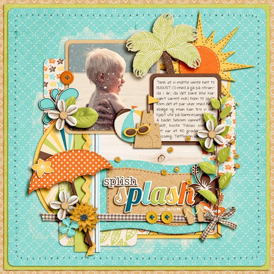 hitting the waves by jady day studio template by cindy schneider font by darcy baldwin buttons by kcb and olb feltflower by creashens watery touches + stitching holes by katie pertiet