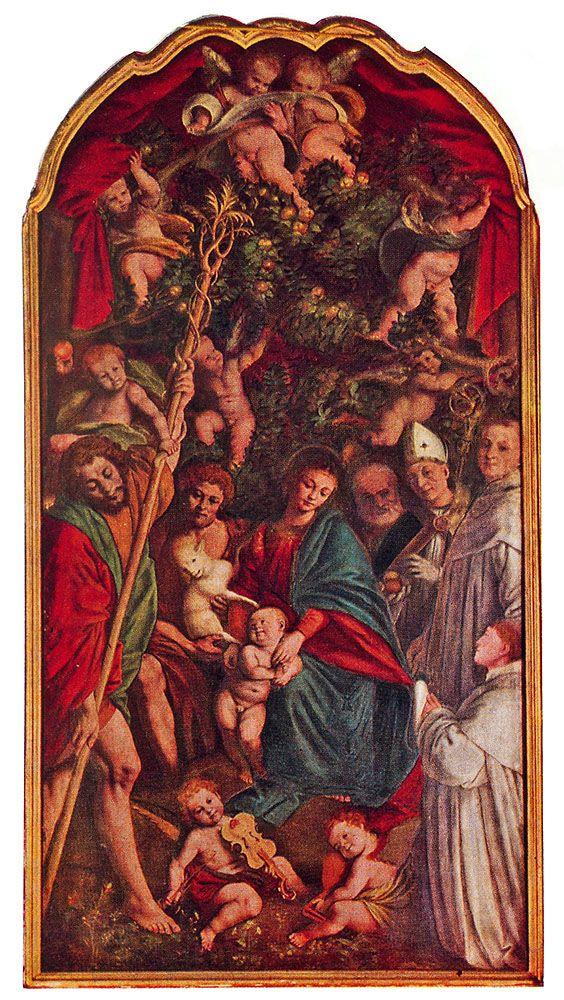 Pala della Madonna degli Aranci - Italia Meravigliosa