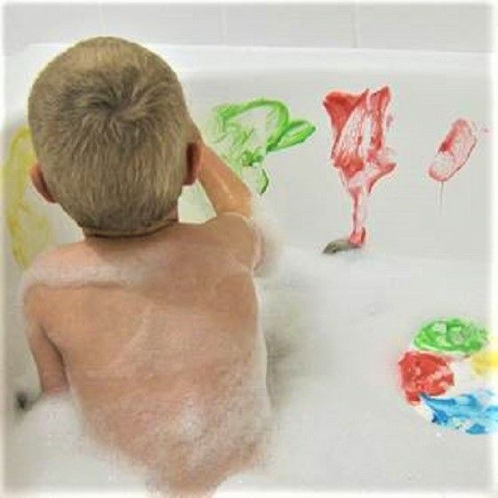 Young Kids Will Love These Homemade Bath Paints Perfect For Bath