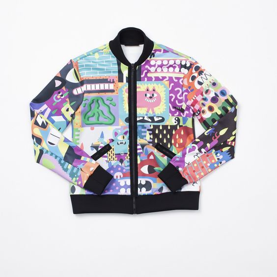 Malarko Hernandez x Ultracor - Bomber jacket, $260
