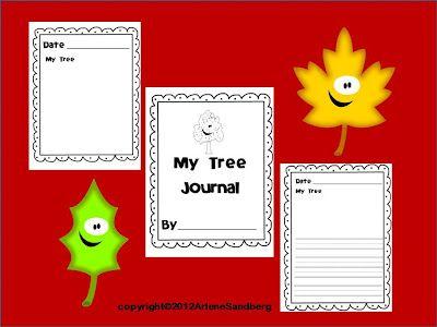 LMN Tree: Integrating ELA CCSS with a free Fun Fall Tree Journal