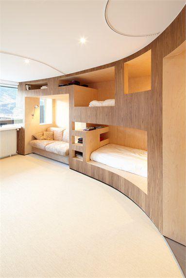 Le Refuge - Saint-Martin-de-Belleville, France - 2012 - H2o Architects #interiors #design #room
