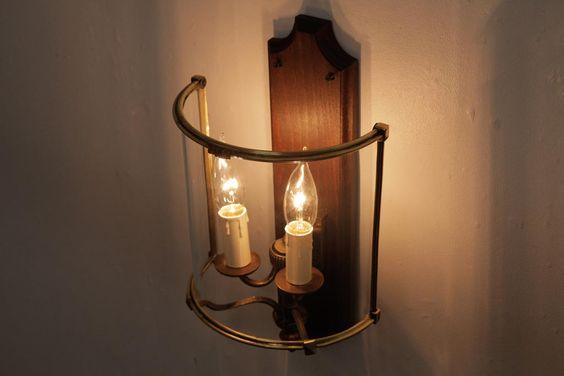 レア フランスアンティーク 2灯 ガラスカバー付きのブラケットライト 壁掛けシャンデリア 照明 ラフジュ工房 シャンデリア 照明 照明 シャンデリア
