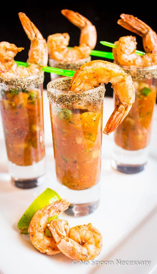 Bloody mary, Gazpacho and Shrimp on Pinterest