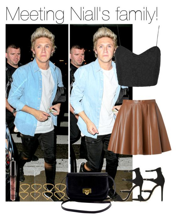 """""""Meeting Niall's family!"""" by directionermixer01 ❤ liked on Polyvore featuring Topshop, RED Valentino and Ana Khouri"""