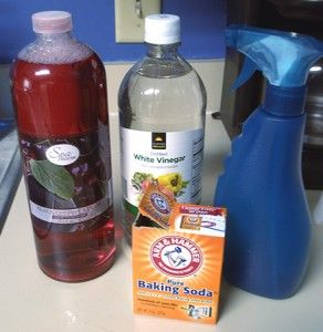 I love this cleaner.  I use peppermint essential oil and it makes the house smell fantastic.  I use borax instead of baking soda.