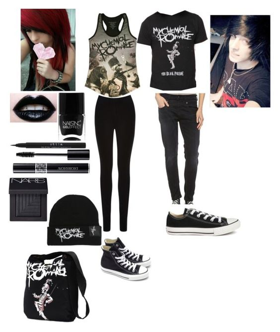 Emo couple outfit! by amberpend on Polyvore featuring ...