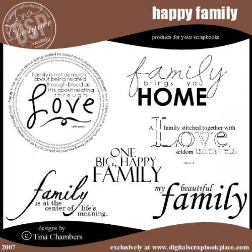 Variety of Family Quotes 2