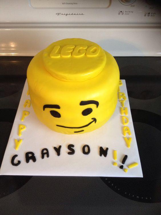 Grayson's birthday cake.