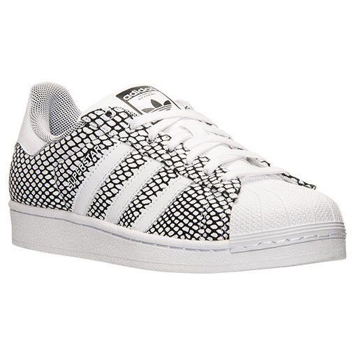 Adidas Superstar White Snake