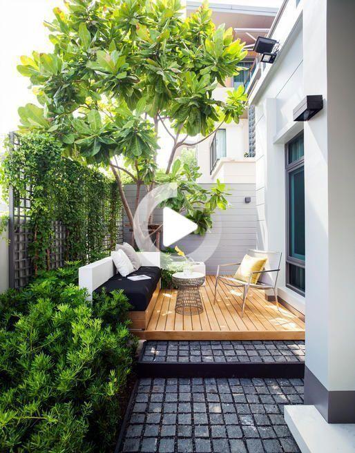 30 Perfekte Kleiner Hinterhof Garten Design Ideen In 2020 Small Backyard Garden Design Backyard Garden Design Small Courtyard Gardens