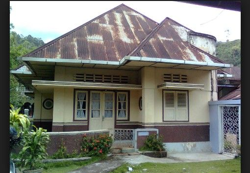 Desain Rumah Jadul Mewah Arsitektur Kolonial Rumah Bersejarah Arsitektur