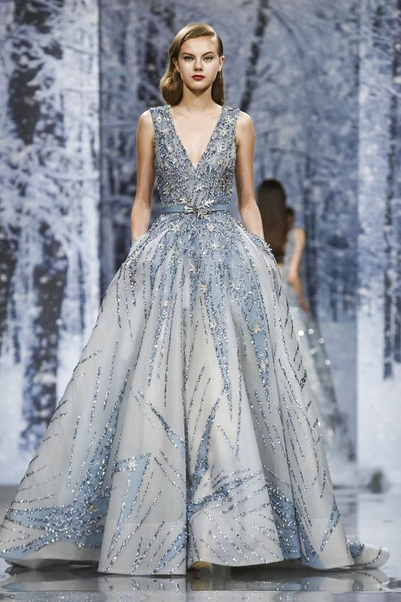 Зиад Nakad Couture Есен Зима 2017 Париж