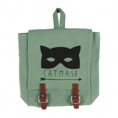 Sac A Dos Catmask Vert  Emile et Ida
