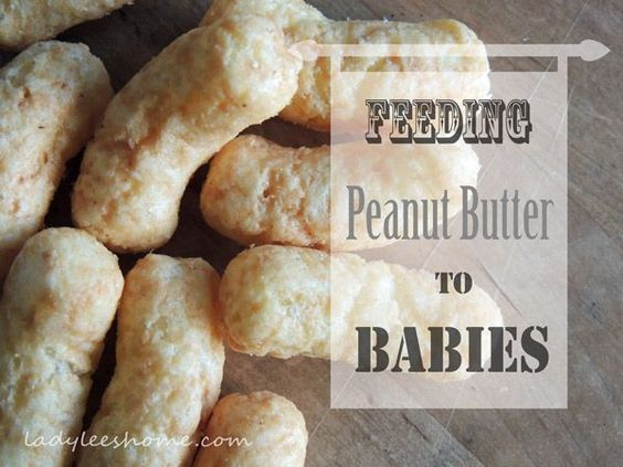Feeding Peanut Butter to Babies | Lady Lee's Home