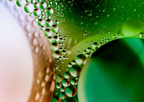 Arte Abstracto. Photography. Bubbles.