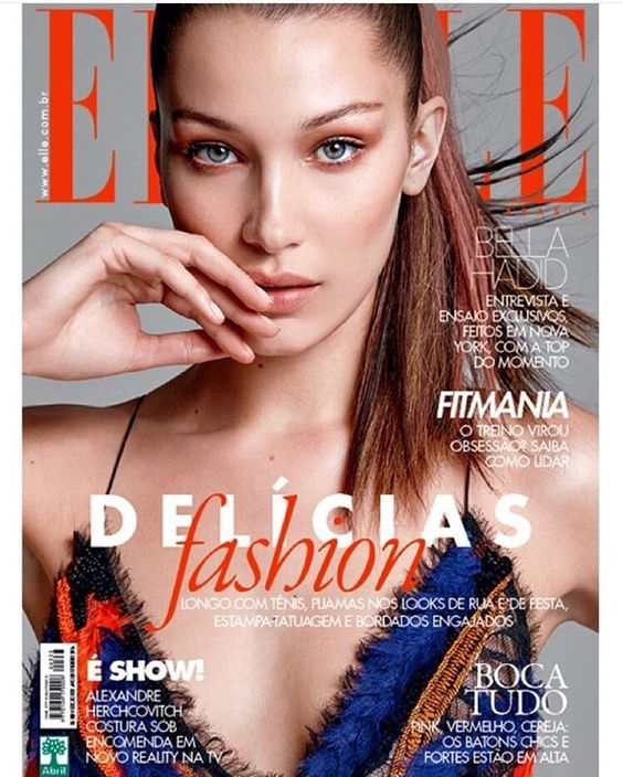 My new @ElleBrasil cover by the great @maxabadian <3 Loveliest team @FrankieFoye @Nina_Park  @SusanaBarbosa @MarcellMaia Thank You