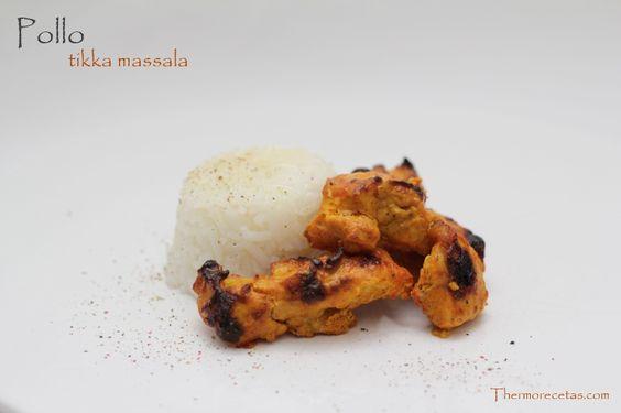 Pollo tikka massala, recién llegado de la India, ideal como segundo plato. Explosión de sabores.