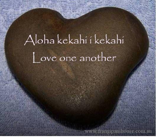 Aloha kekahi i kekahi