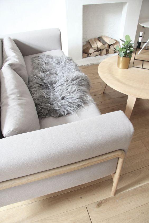#Gazzda #sofa #Scandinavian #white #interior #inspiration - www.kifkef.be