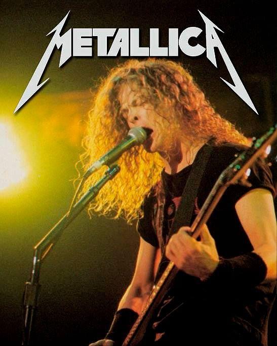 Metallica - Jason Newsted - Bass (1986-2001)