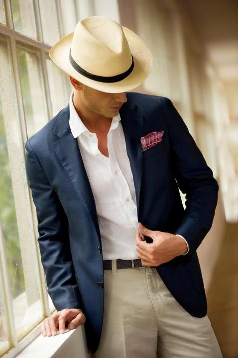 Put This On • The Summer Panama Hat Tomorrow, May 15th, is Straw...