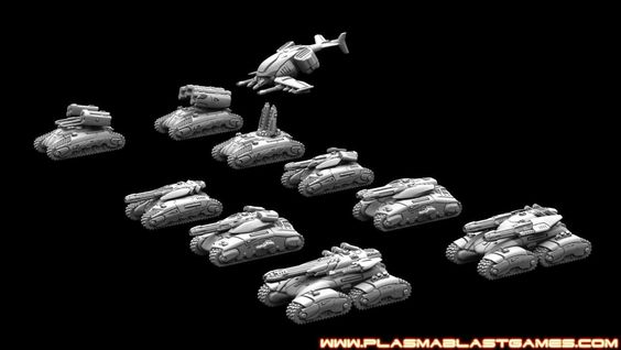 Plasmablast Games, Marhaf Legion
