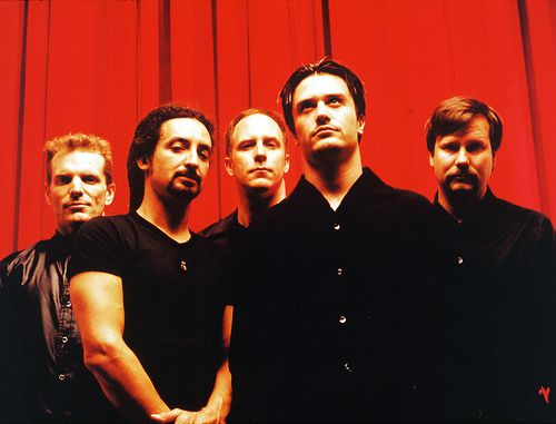 Faith No More-Love this band to death. I walked around with Mike Patton's picture in my wallet for years. I went to a concert and the wife of the drummer(different band) took it and had him sign it for me. Best day of my life. Plus I got to see them perform live thanks to my husband. I was pregnant and in heaven :)
