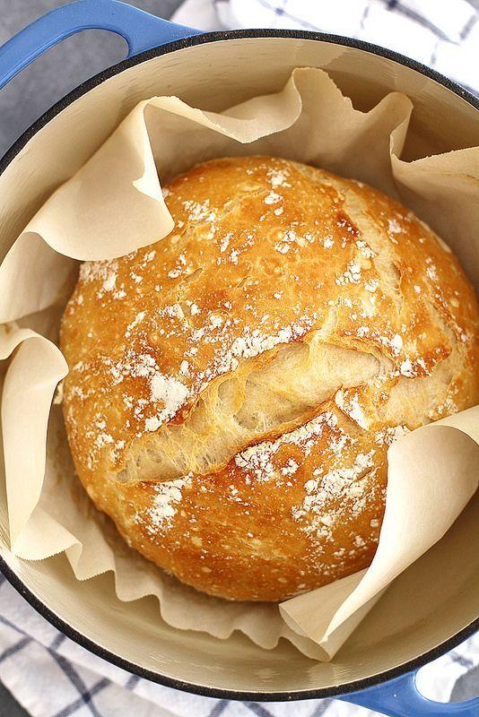 No Knead Dutch Oven Bread Recipe Girl Versus Dough Recipe Dutch Oven Recipes Bread Recipes Homemade Oven Recipes