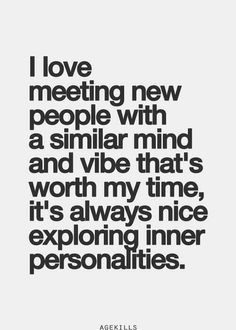 meeting new people quotes - Google Search
