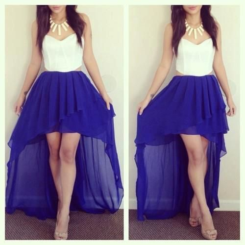 Pics of blue dresses tumblr   Fashion dresses lab