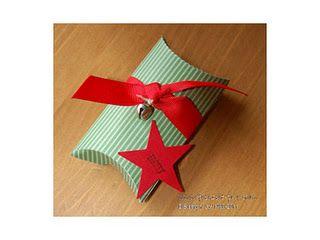 Stampin Up! Weihnachtliche Pillowbox