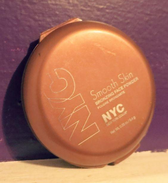 the BEST bronzer ever! NYC bronzer in Sunny