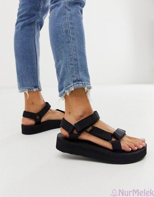 2020 Bayan Sandalet Modelleri Siyah Sandalet Sandalet Bayan Ayakkabi