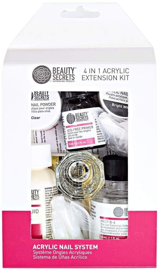 Beauty Secrets 4 In 1 Nail Extension Kit Beautytips Nail Extensions Beauty Secrets Skincare Beauty Secrets