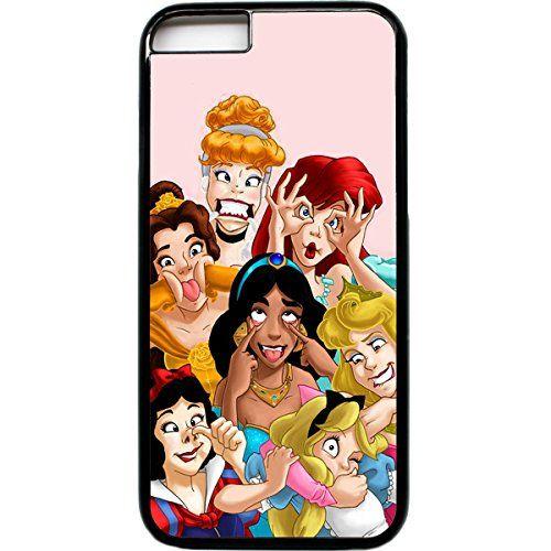iPhone 6 funny faces Princesses Disney Blanche Neige Sirène Coque ...