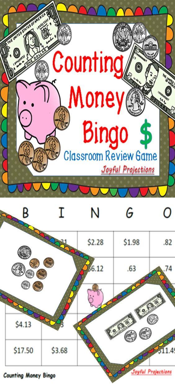 money bingo classroom review activity w 35 bingo cards coins bingo and plays. Black Bedroom Furniture Sets. Home Design Ideas