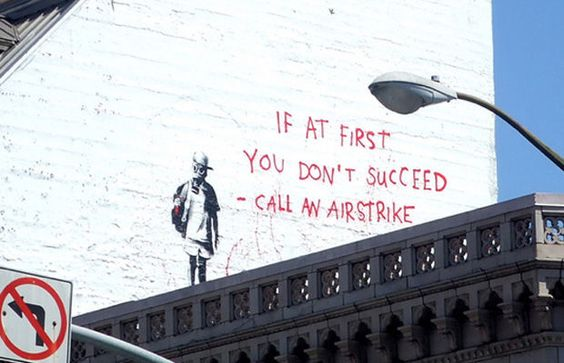 If You Don't Succeed Call An Airstrike, San Francisco 2010
