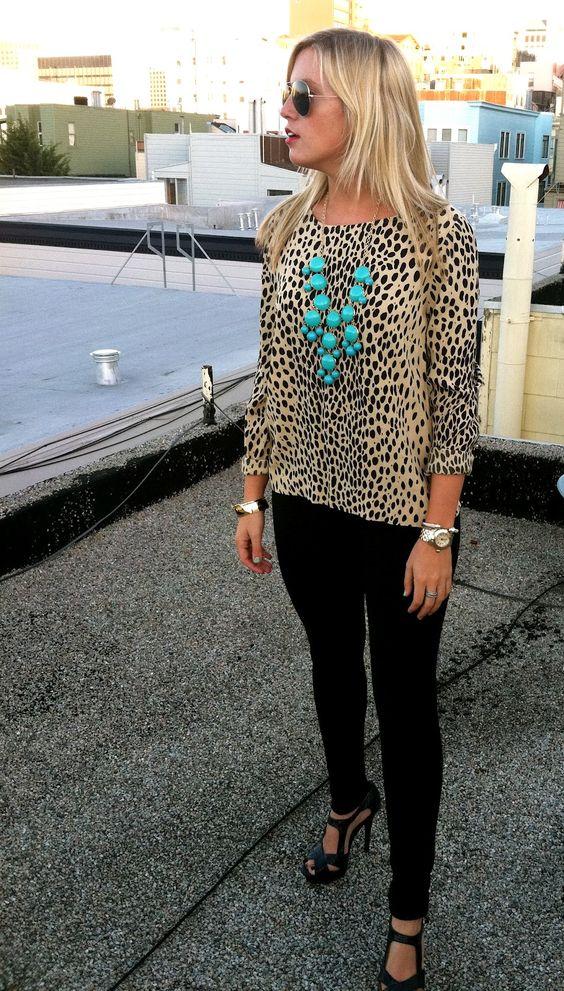 Leopard shirt- I wants!!!!